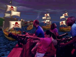DisneyQuest - Pirates